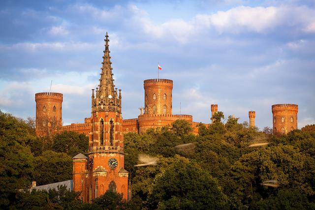 Castle in Kamieniec Zabkowicki